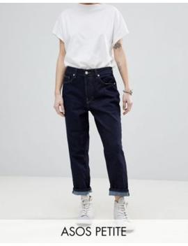 asos-white-–-petite-–-jeans-mit-geradem-beinschnitt by asos