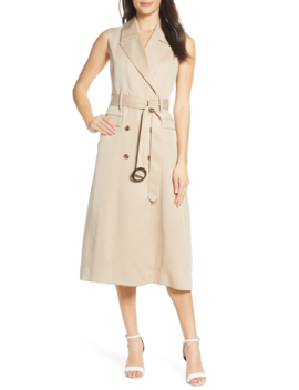 trench-dress by fame-and-partners