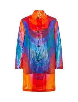 printed-polyamide-and-silk-blend-coat by dries-van-noten