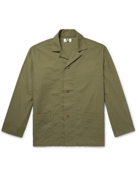 camp-collar-cotton-shirt-jacket by chimala