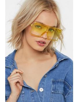 eye-see-how-it-is-ombre-visor-sunglasses by nasty-gal