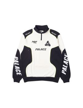 3e90eb87 Shoptagr | Palace P Racer Top White/Black by Stock X