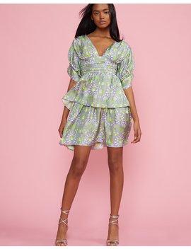54b75008bf CYNTHIA ROWLEY. Freida Puff Sleeve Dress