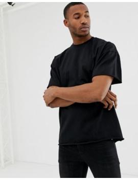 – ShoptagrAsos SchweresÜbergroßes Design Shirt T Offenen Mit uOPXZkiT