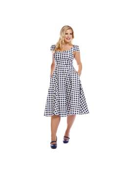 101ccccee62b Shoptagr   Collectif Mainline Monia Gingham Swing Dress by Collectif