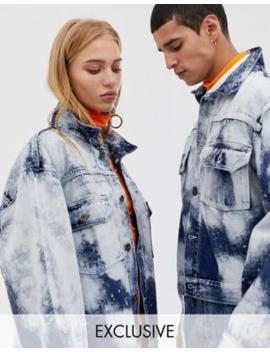big sale 3c50a e8f37 Shoptagr | Collusion Giacca Di Jeans Unisex Oversize Effetto ...