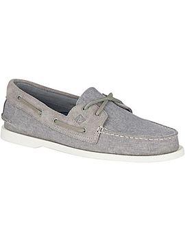 Men's Authentic Original Linen Boat Shoe by Sperry