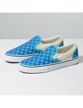 Thermochrome Checker Classic Slip On Schuhe