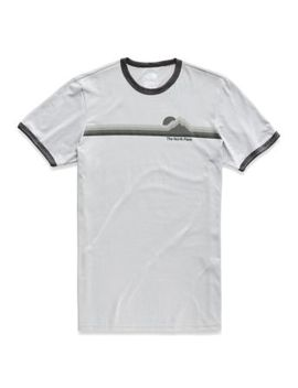 Men's Short Sleeve More Than A Ringer Tri Blend Tee by The North Face