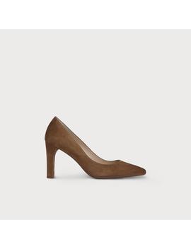 Tess Brown Suede Heel by L.K.Bennett