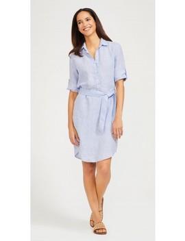 Melinda Linen Dress by J.Mc Laughlin