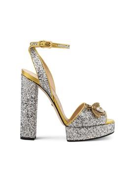 d97a39685 Shoptagr | Soko Platform Sandal by Gucci