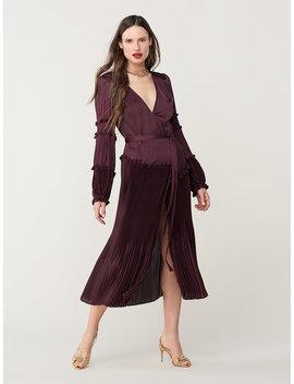 Keira Pleated Midi Dress by Dvf