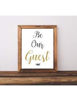 picture regarding Be Our Guest Printable identify Shoptagr Printable Estimates, Be Our Visitor, Printable Wall