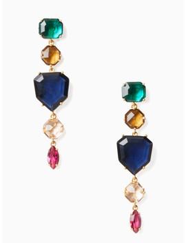 Rock It Linear Earrings by Kate Spade