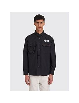 260e8b936 The North Face Black Series Pertex Coach Shirt Jacket Black