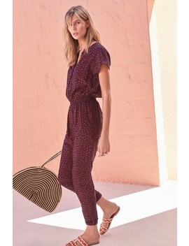 Purple Soft Tapered Jumpsuit by Next