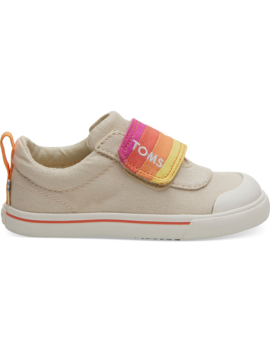Natural Horizon Canvas Tiny Toms Doheny Sneakers by Toms