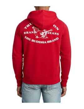90d21b9f9 Shoptagr | Mens Heritage Buddha Zip Up Hoodie by True Religion