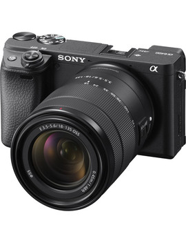 Alpha A6400 Mirrorless Digital Camera With 18 135mm Lens by Sony