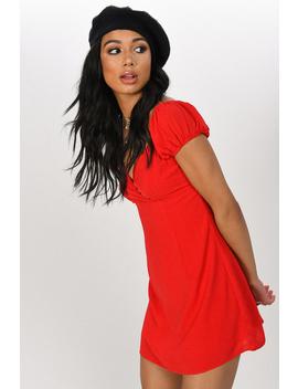 84615902f18 Love Me Again Red Dress