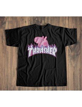 72ef090a4 Shoptagr | Gucci Shirt, Thrasher Peppa Pig Shirt, Peppa Pig Shirt ...