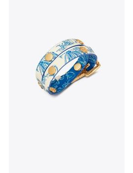 printed-reversible-double-wrap-logo-stud-bracelet by tory-burch