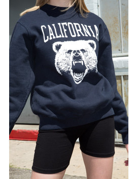 Erica California Bear Sweatshirt by Brandy Melville