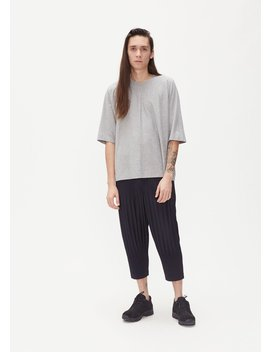 Basics Release Tee by Issey Miyake Homme Plisse