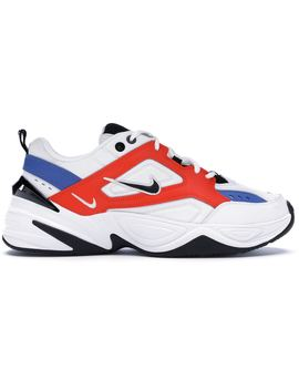 7f31eda6 Shoptagr | Nike M2 K Tekno White Black Orange by Stock X