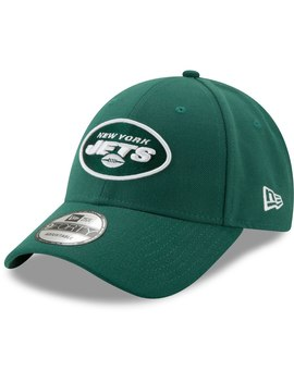 2fbee600017a3c NEW ERA. NEW YORK JETS NEW ERA NFL THE LEAGUE 9FORTY ADJUSTABLE HAT ...