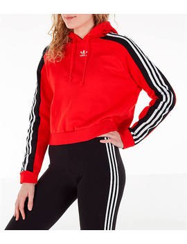 Women's Adidas Originals Cropped Hoodie by Adidas