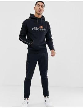 46adff694b4 Shoptagr | Ellesse Sweat Co Ord In Black by Asos