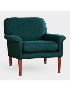 Dark Teal Malcom Armchair by World Market