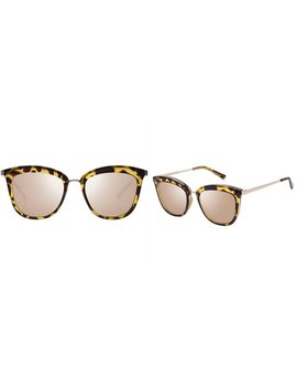 Le Specs Caliente Sunglasses   Syrup Tort Copper Revo Mirror by Le Specs
