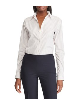 embroidered-striped-button-down-shirt by lauren-ralph-lauren