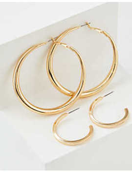 aeo-gold-hoop-earrings-2-pack by american-eagle-outfitters