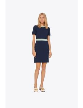 Color Block Ponte Dress by Tory Burch