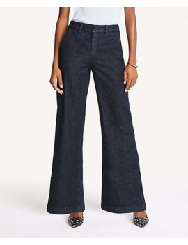 the-trouser-in-refined-denim by ann-taylor
