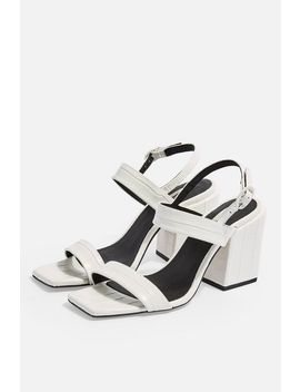 roxie-vegan-white-block-heels by topshop