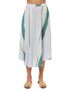 stella-mixed-stripe-midi-skirt by oneill