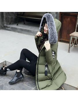 womens-down-jacket-fashion-warm-winter-pu by unbranded