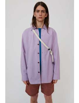 Striped Shirt Lilac Purple by Acne Studios