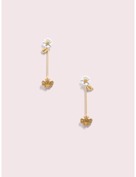 All Abuzz Bee Linear Earrings by Kate Spade