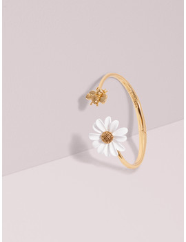 All Abuzz Bee Open Hinged Cuff by Kate Spade