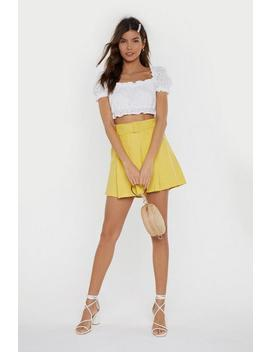 not-what-you-skort-belted-shorts by nasty-gal