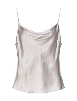 Fleur Du Mal Silk Top   T Shirts And Tops by Fleur Du Mal