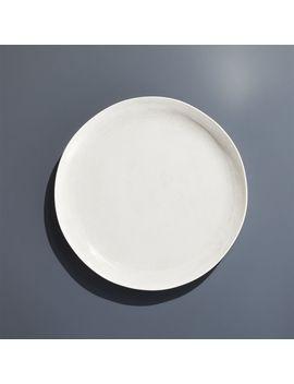 Nico Cream Melamine Salad Plate by Crate&Barrel