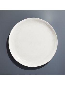Nico Cream Melamine Dinner Plate by Crate&Barrel