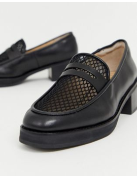 e8-by-miista-black-heeled-chunky-loafers-with-woven-detail by e8-by-miista
